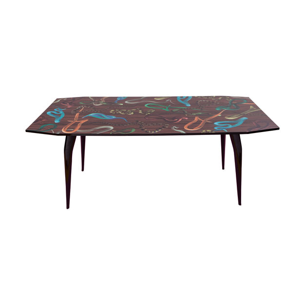 Seletti Wears Toiletpaper: Snakes Dining Table in color