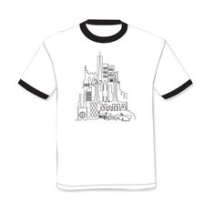 MoMA Skyline T-Shirt in color White