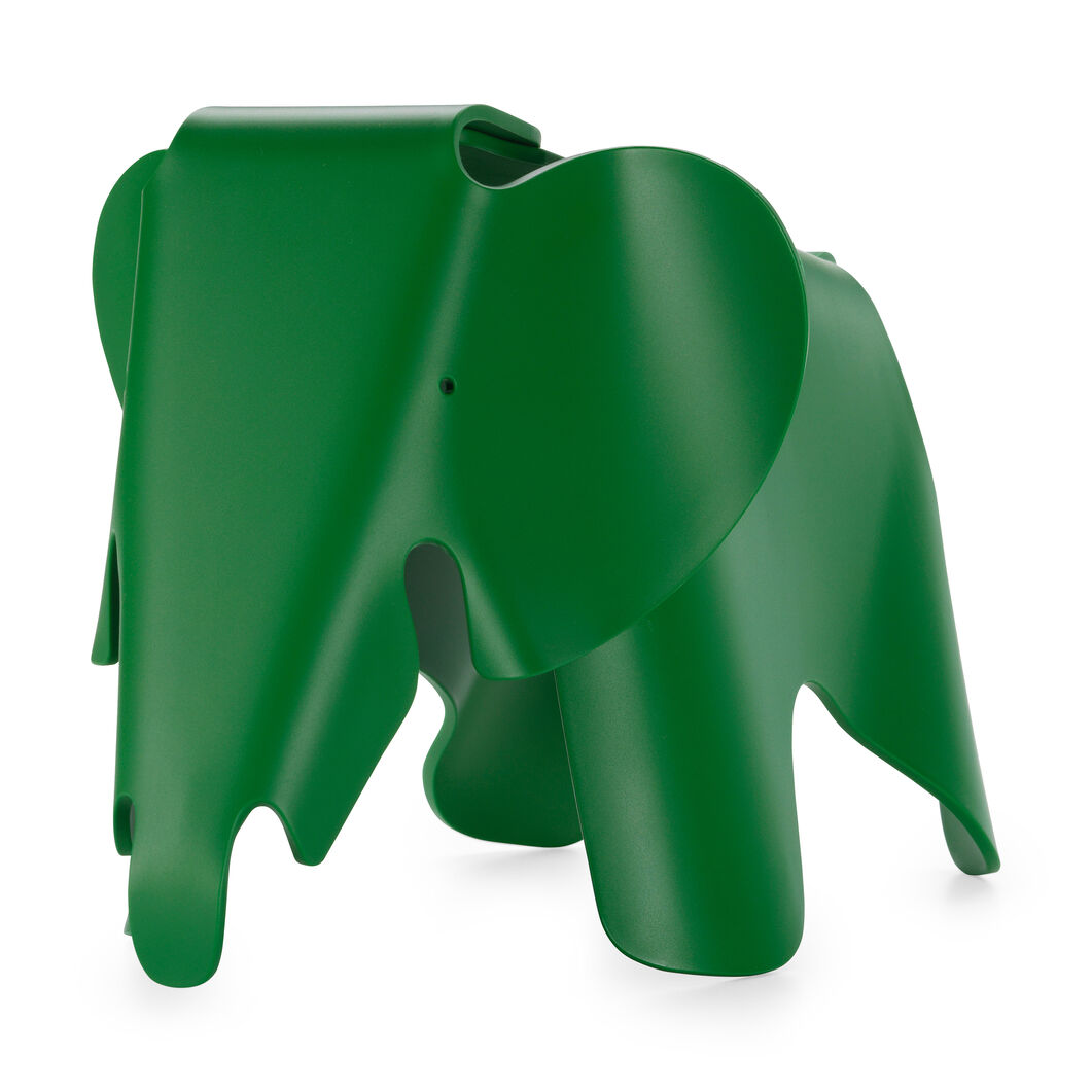 Colorful Eames®Elephant in color Green