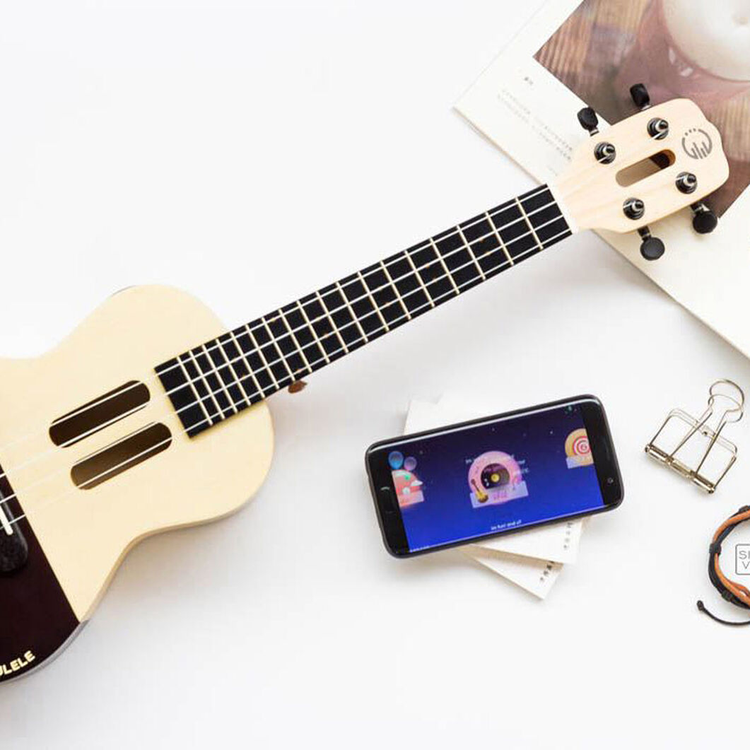 Populele Smart Ukulele in color