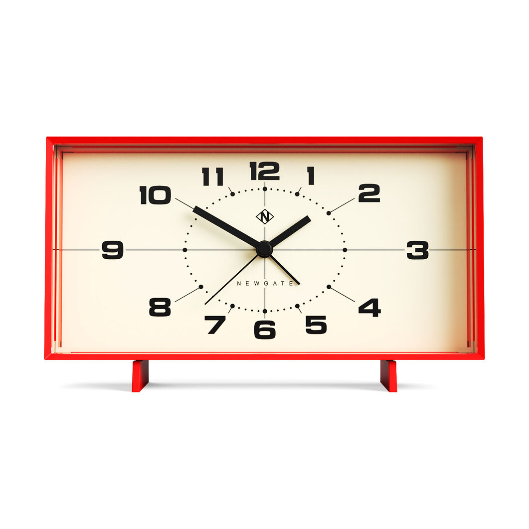 Wideboy Alarm Clock in color Red