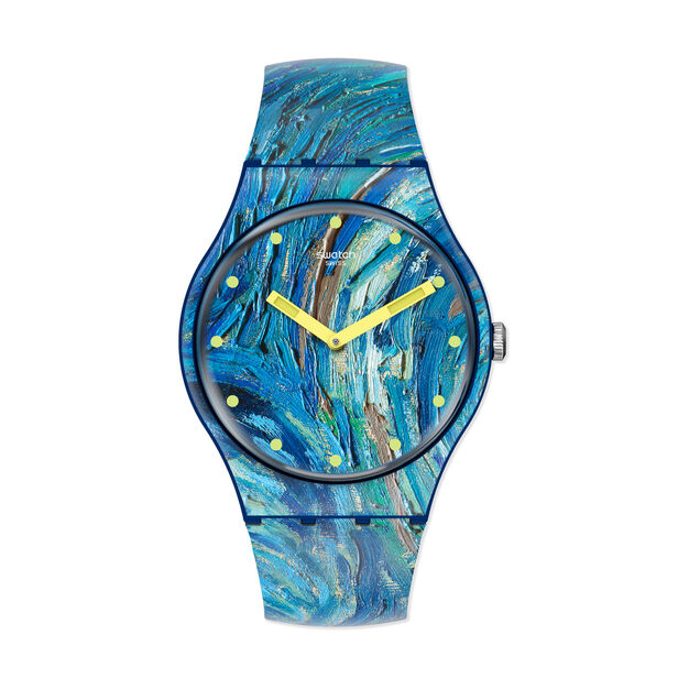 Swatch x MoMA Watches in color Van Gogh