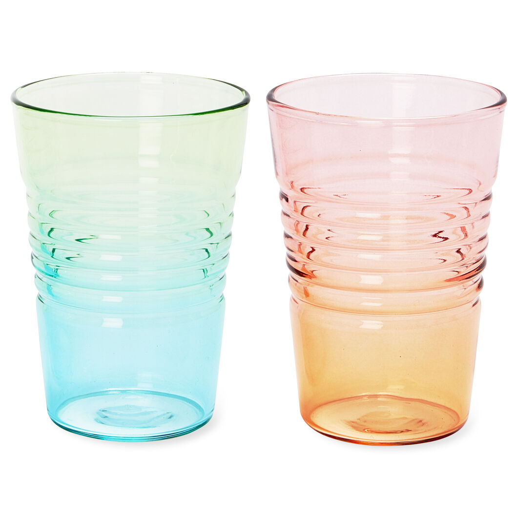 Ombré Juice Glasses in color
