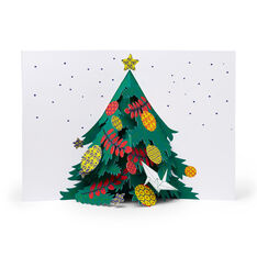 Holiday Tree Holiday Cards - Set of 8 in color