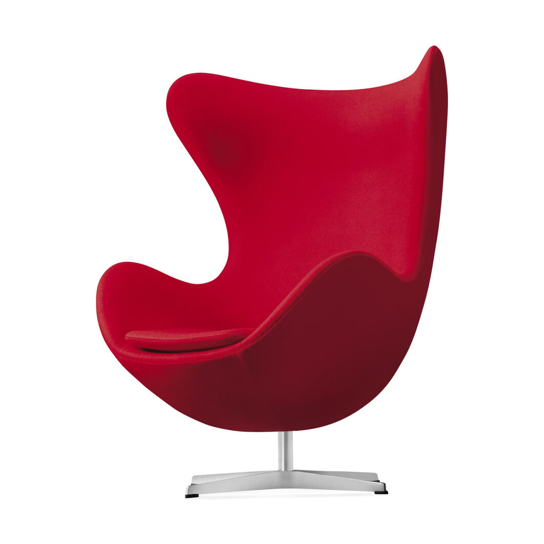 the egg chair red moma design store. Black Bedroom Furniture Sets. Home Design Ideas