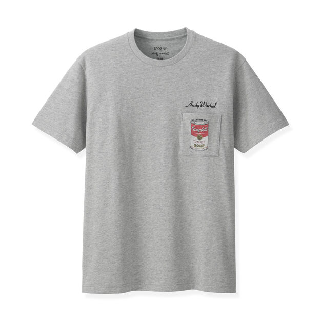 Uniqlo andy warhol soup can t shirt small moma design for Uniqlo moma t shirt