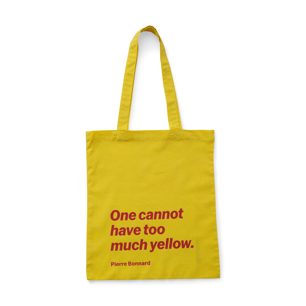 Artist Quote Totes in color Pierre Bonnard