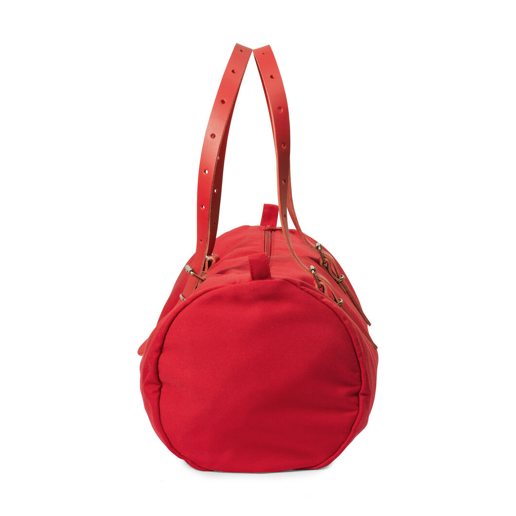 DUFFLE-CO Bag in color Red
