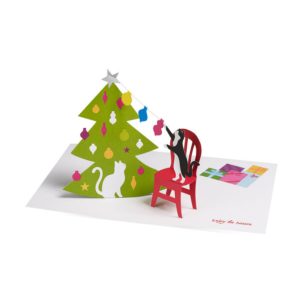 Christmas Cats Holiday Cards in color