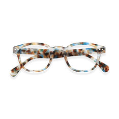 IZIPIZI Blue Tortoise Glasses 1.0 in color Blue Tortoise