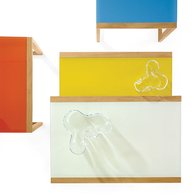 Albers Nesting Tables in color