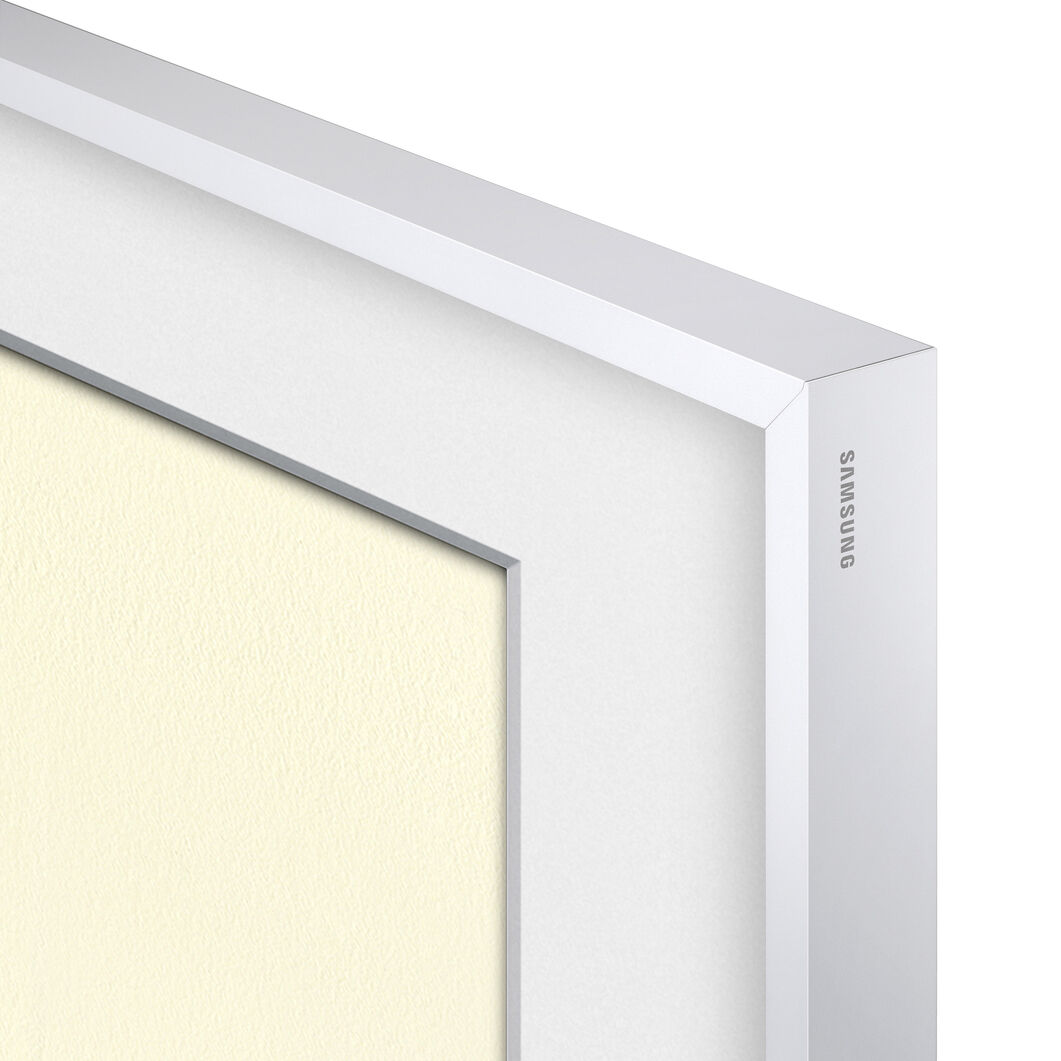 Samsung Customizable Bezels for The Frame TV in color White