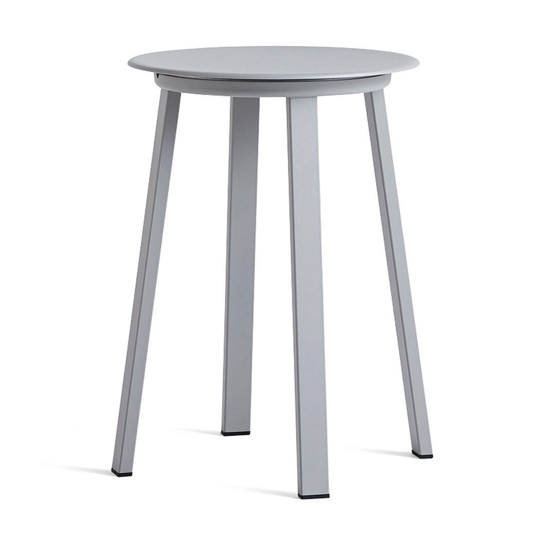 HAY Revolver Stool in color Light Grey