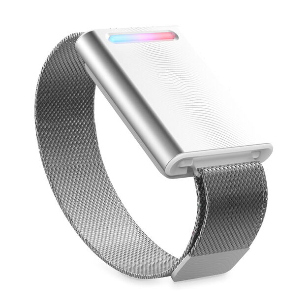 Embr Wave Temperature-Control Bracelet in color Silver