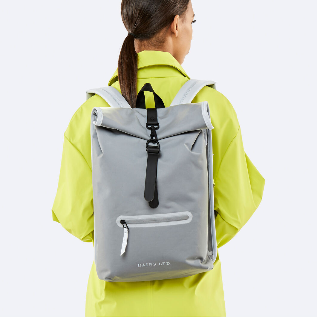 Rains Reflective Backpack in color