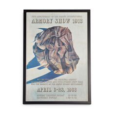 Marcel Duchamp: Armory Show Framed Poster in color