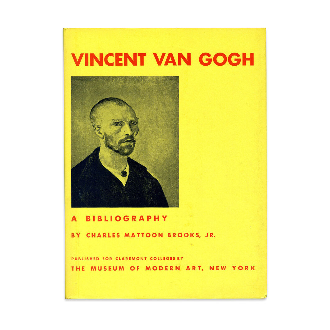 Vincent Van Gogh: A Bibliography - Hardcover in color