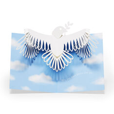 Peaceful Dove Holiday Cards - Set of 8 in color