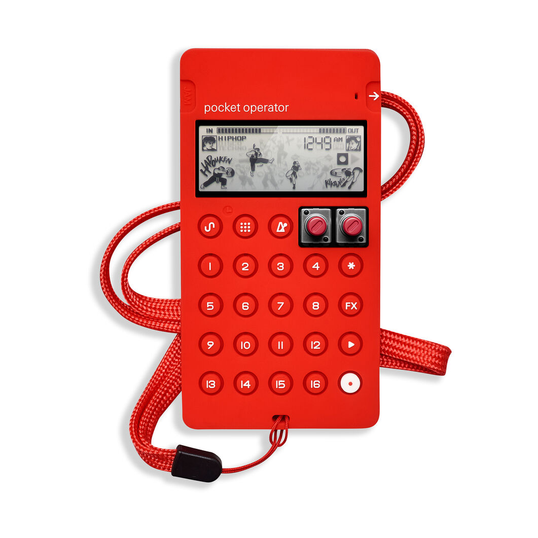 Case for Teenage Engineering Pocket Operator™ Capcom Series® in color Red