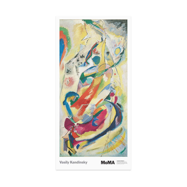 Poster Kandinsky: Panel for Edwin R. Campbell No. 1 Poster in color