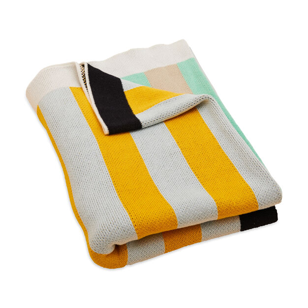 Dusen and Dusen Stripe Throw in color