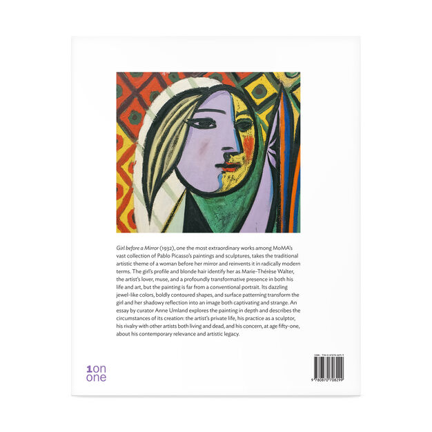 Picasso: Girl before a Mirror in color