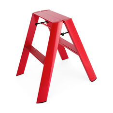 Lucano Step Stools- One Step in color Red