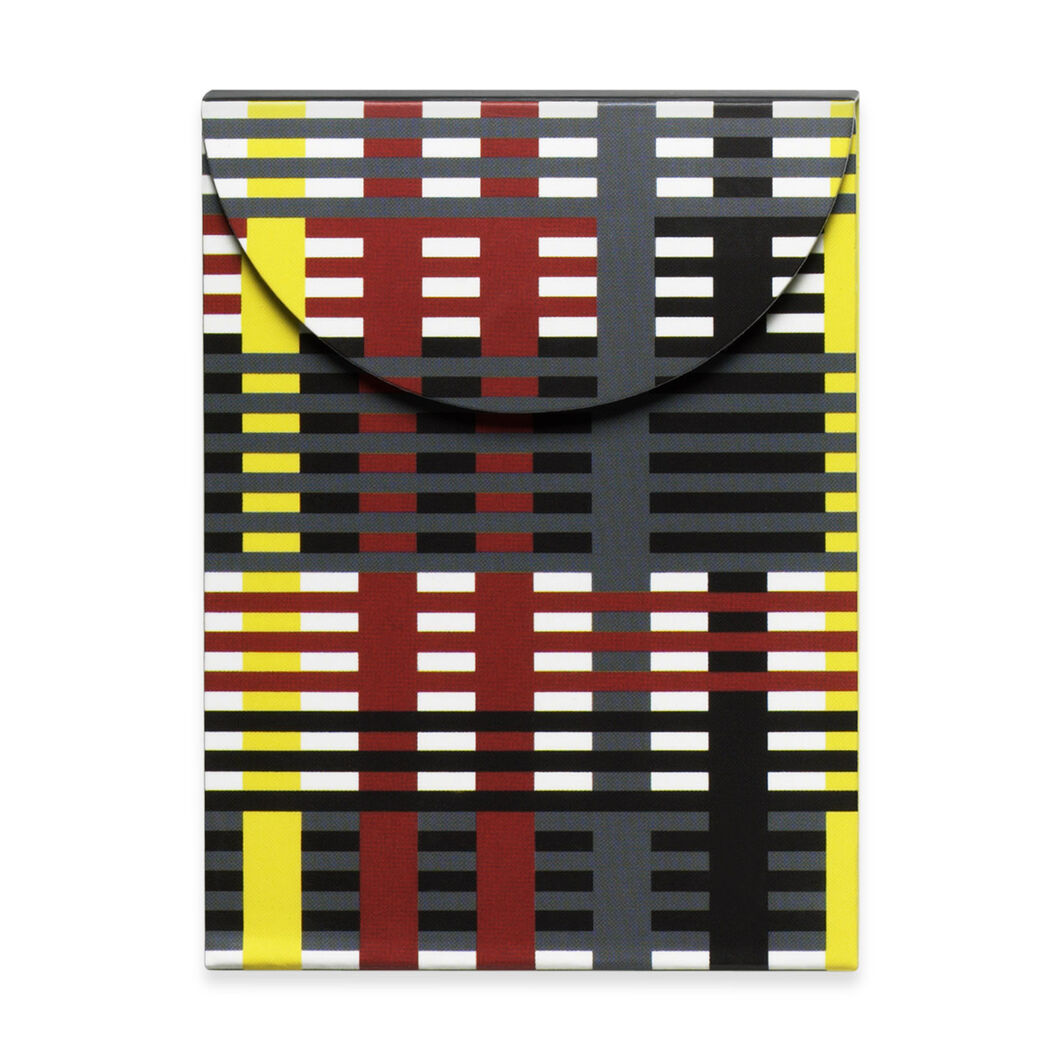 Albers: Study for Unexecuted Wall Hanging Notebook in color
