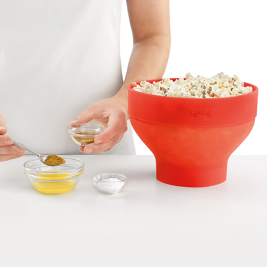Microwave Popcorn Popper in color