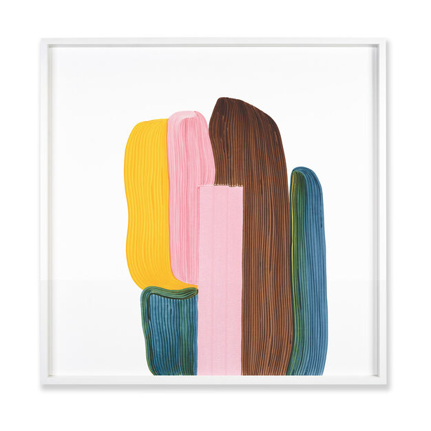 Ronan Bouroullec: Drawing 8, 2020 Framed Print in color