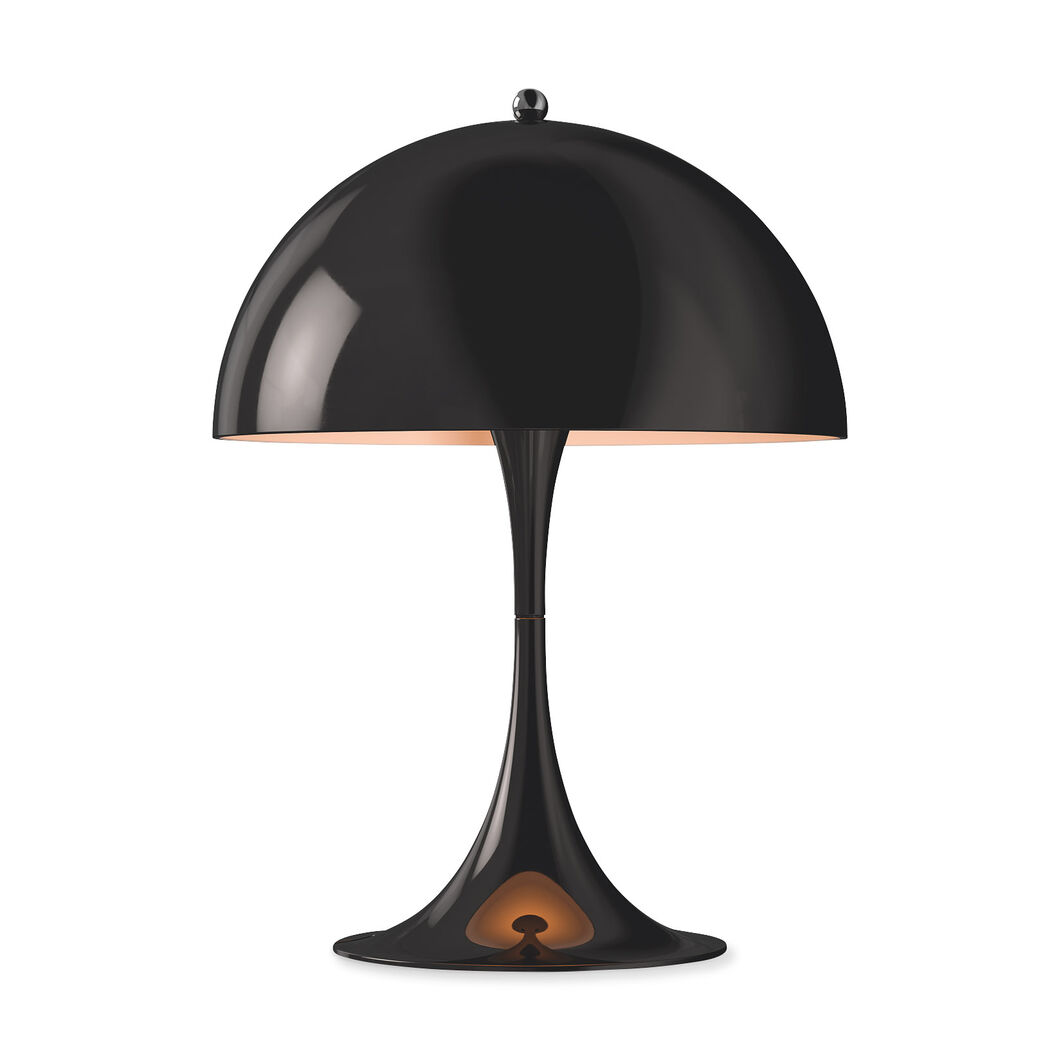 Panthella Mini Table Lamp in color Black