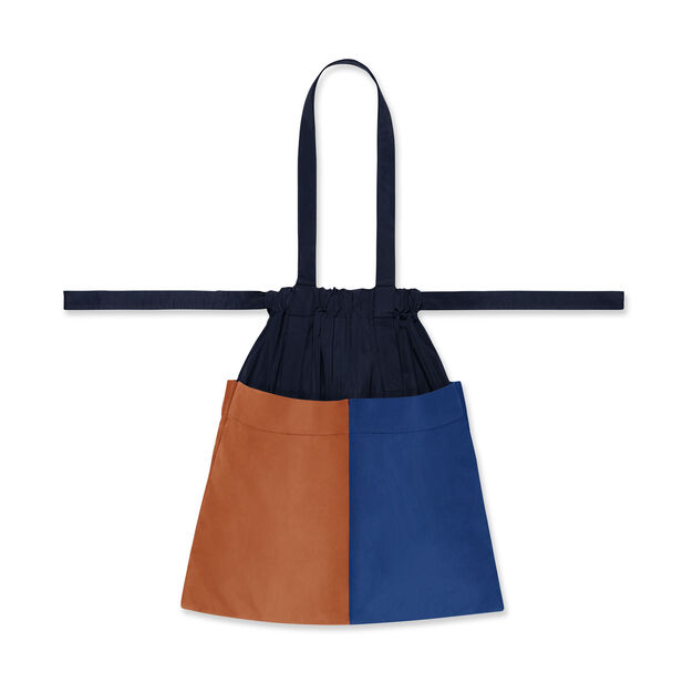 Formuniform Tote Bag in color Navy/ Orange/ Blue