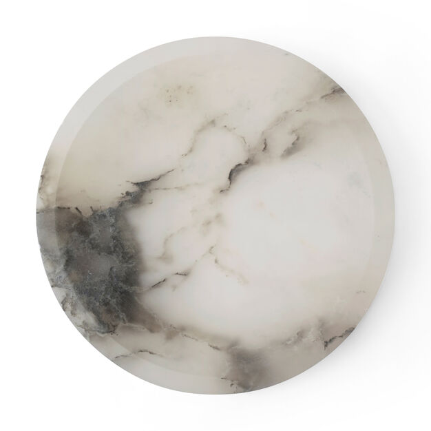 Circular Alabaster Bowl in color