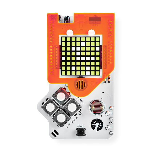 DIY Gamer Kit (with Arduino) in color