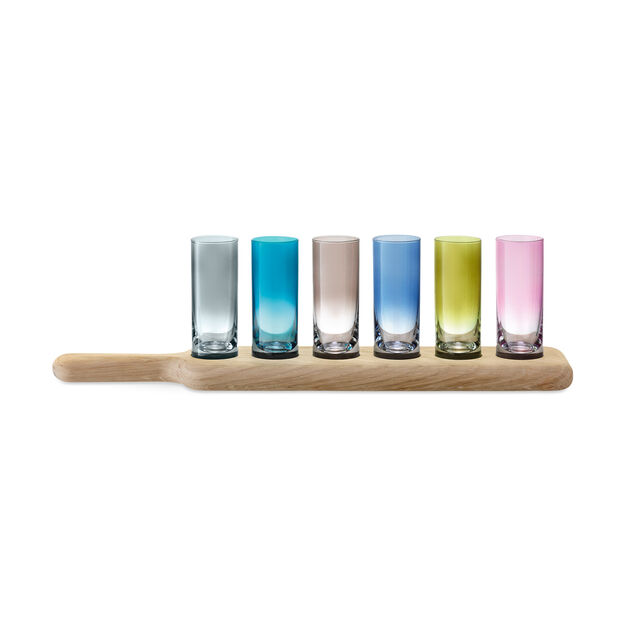 Paddle Shot Glass Set in color