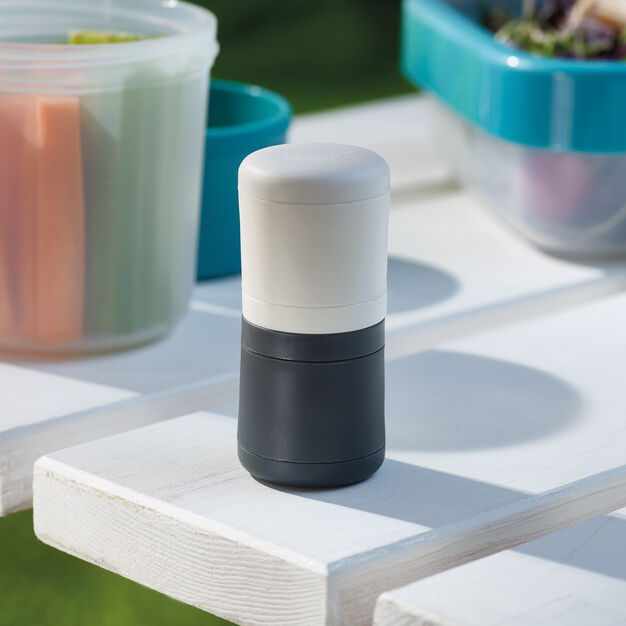GoEat Salt and Pepper Travel Shakers in color