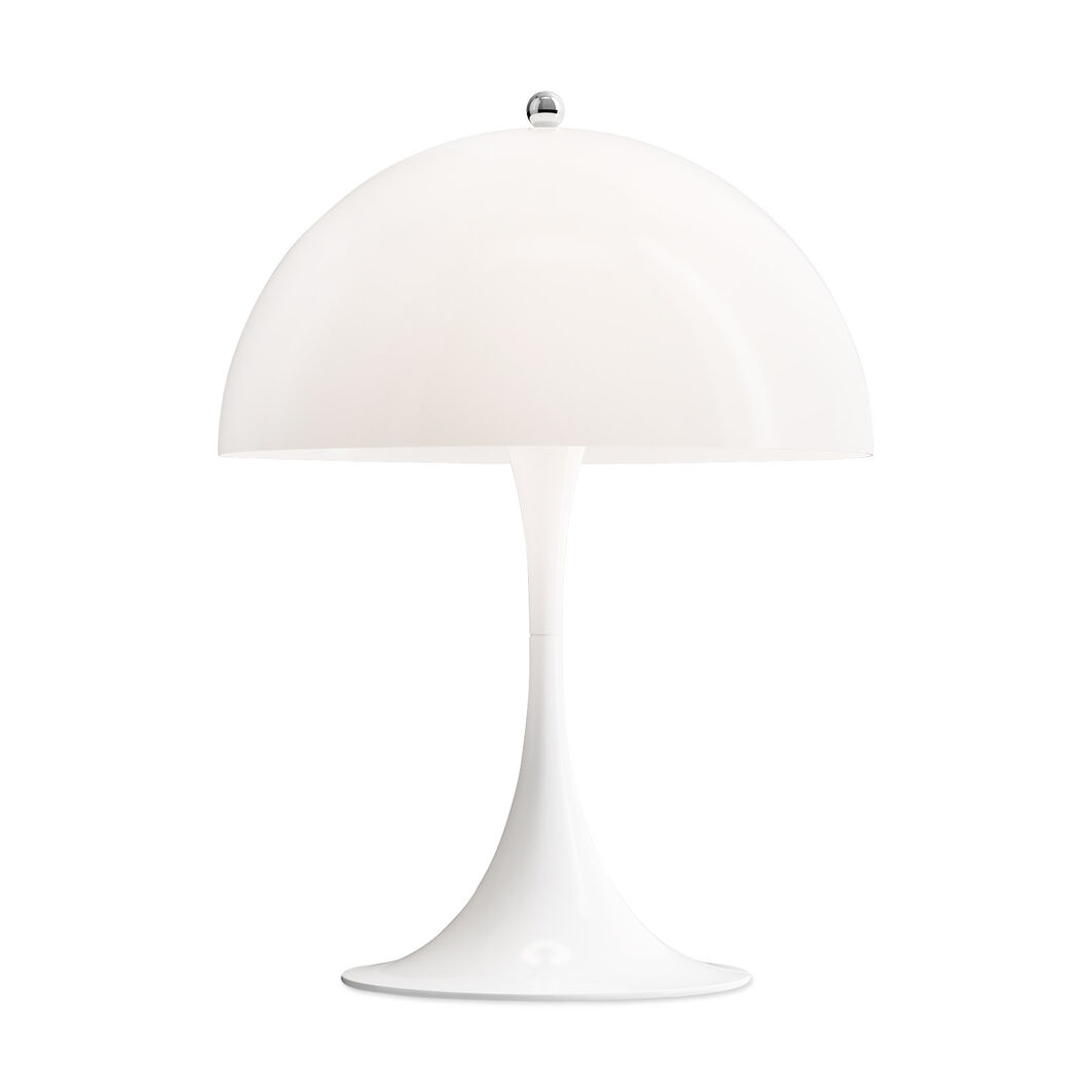 Panthella Mini Table Lamp in color White