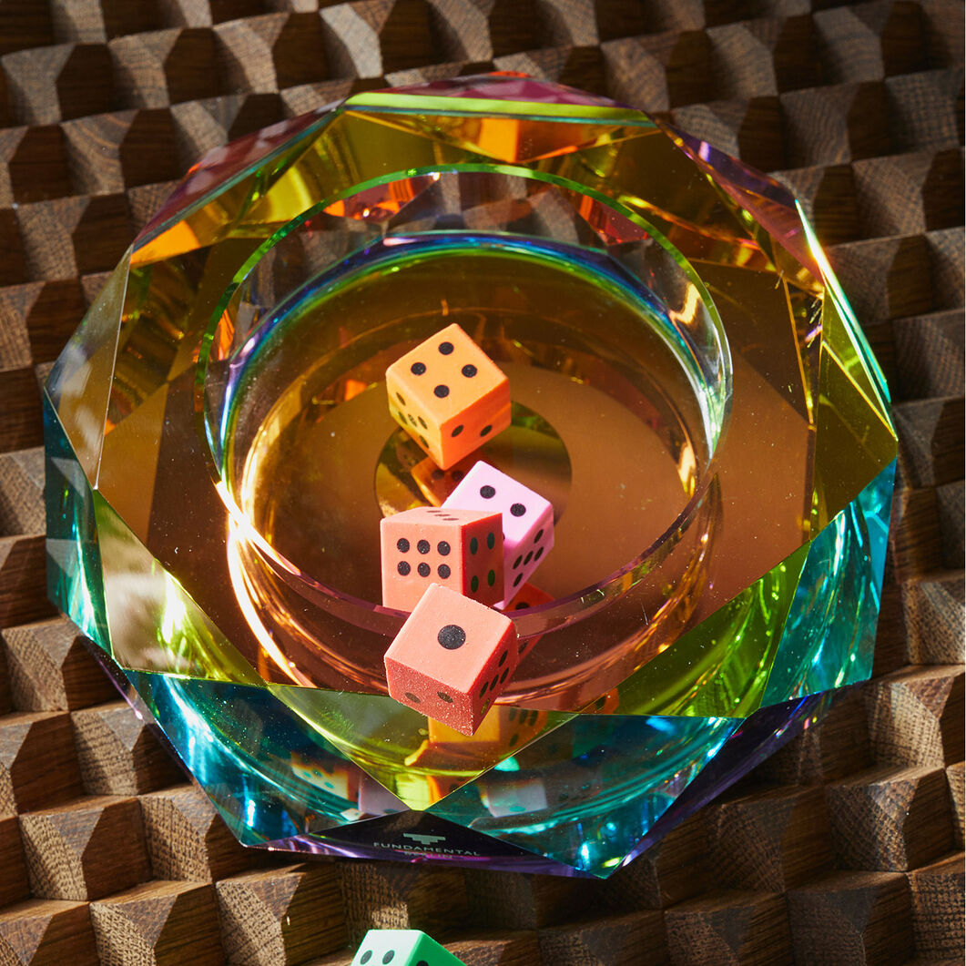 Chromatic Crystal Bowl in color