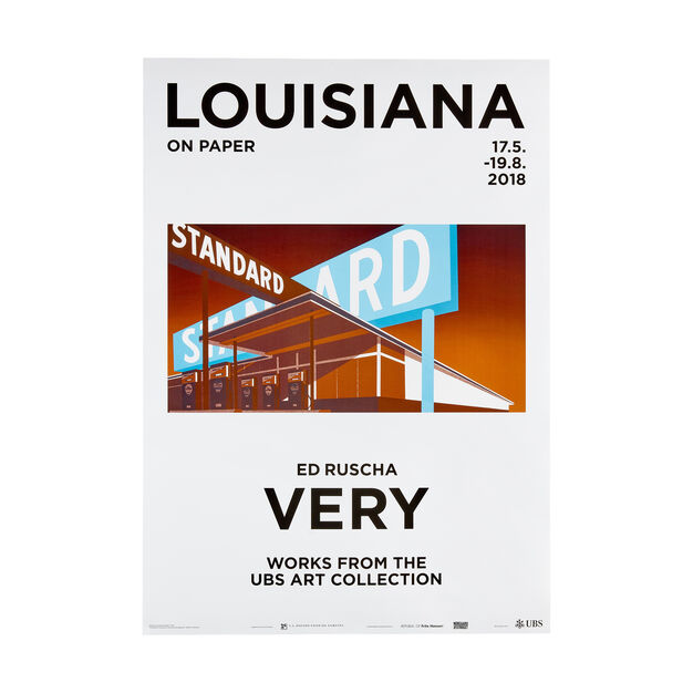Ed Ruscha: Very Poster in color