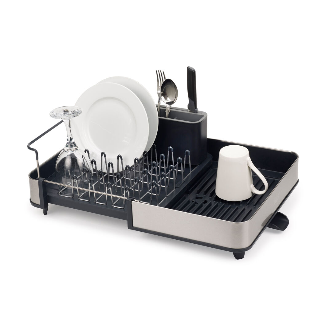 Expandable Steel Dish Rack in color