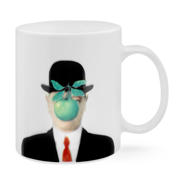 Magritte: The Son of Man Mug in color