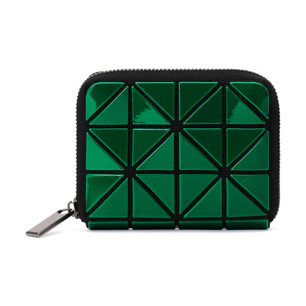 BAO BAO ISSEY MIYAKE Jam Wallet in color Blue/ Green