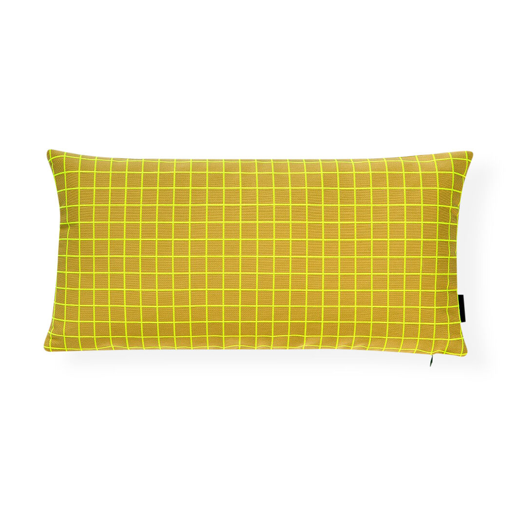 Bright Grid Hi-Lite Pillow in color