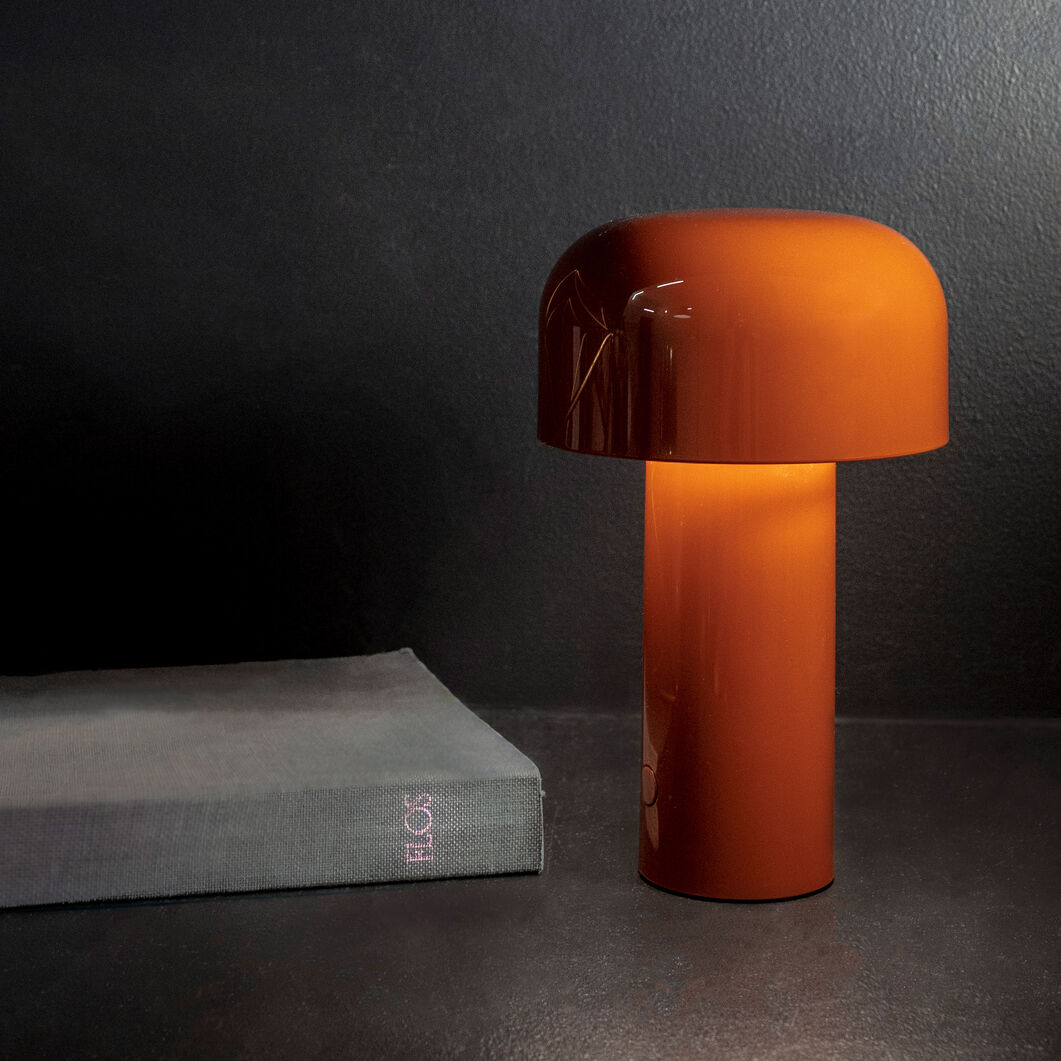 Bellhop Lamp in color Burnt Orange