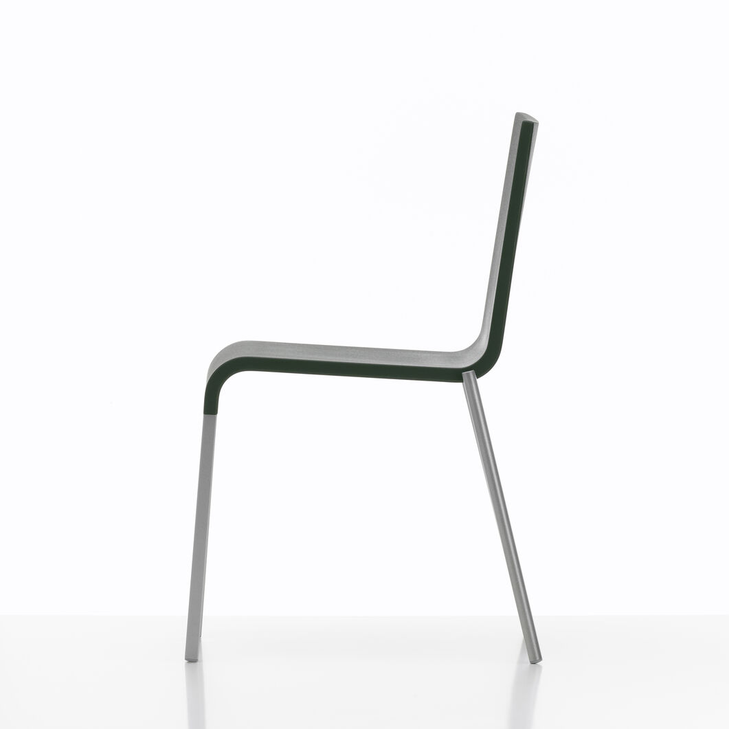 .03 Stacking Chair in color Dark Grey