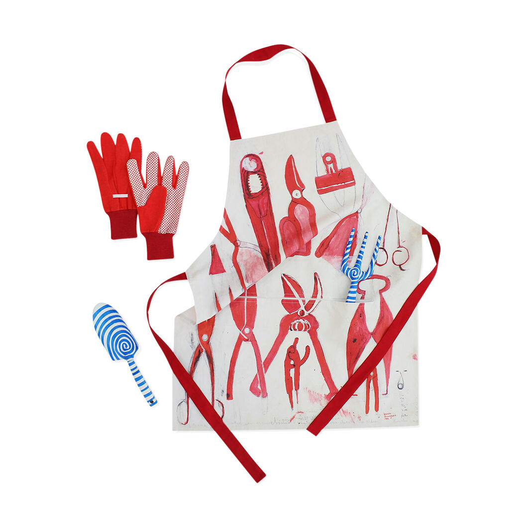 Louise Bourgeois: Garden Tool Set & Apron in color