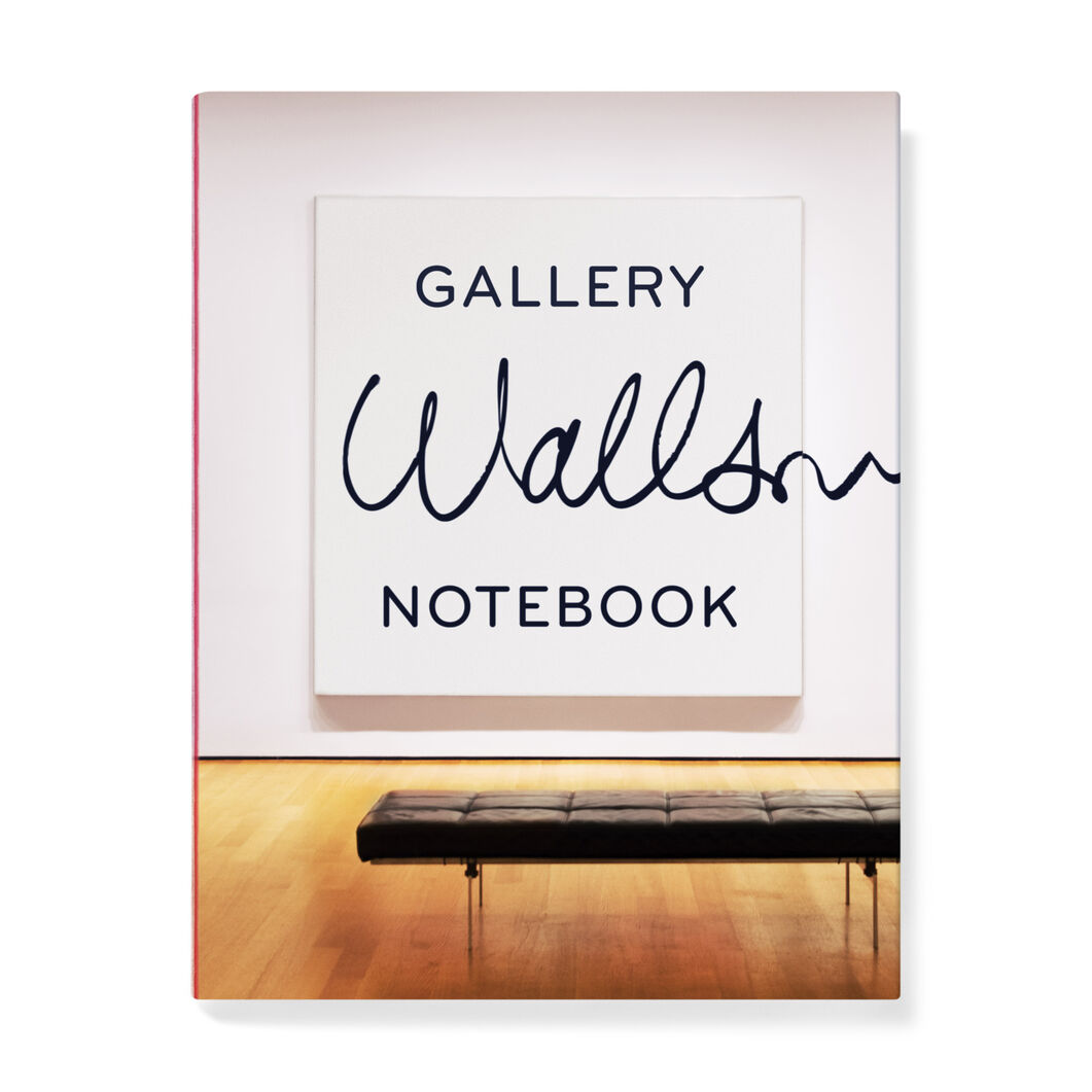 Gallery Walls Notebook in color