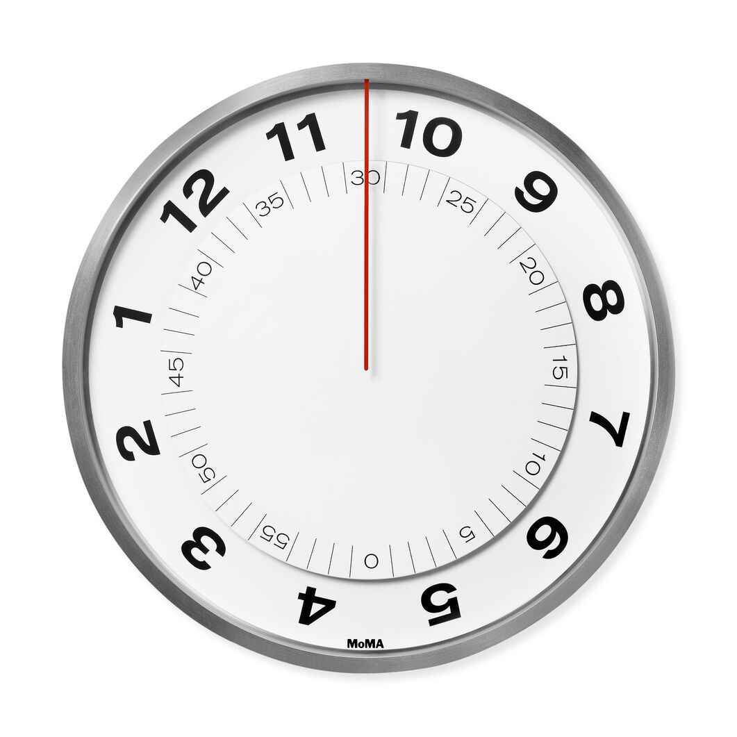 Dial wall clock moma design store dial wall clock in color amipublicfo Choice Image