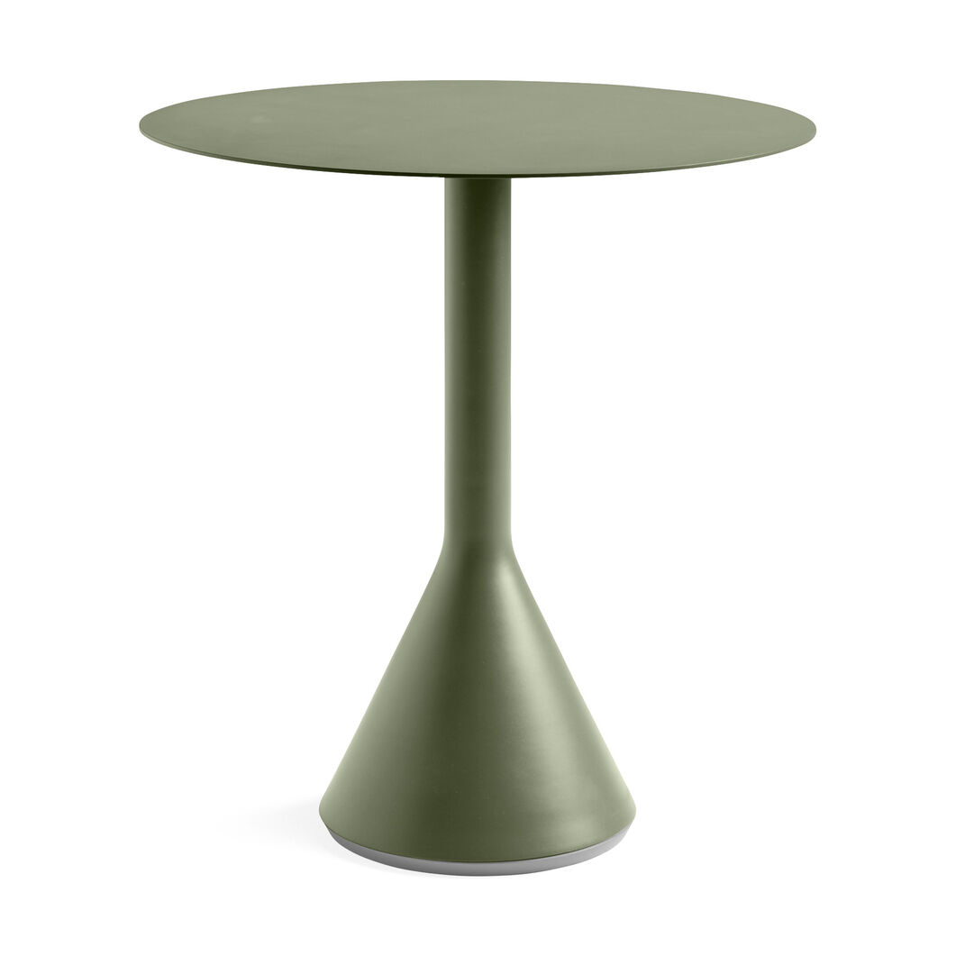 HAY Palissade Cone Table in color Olive