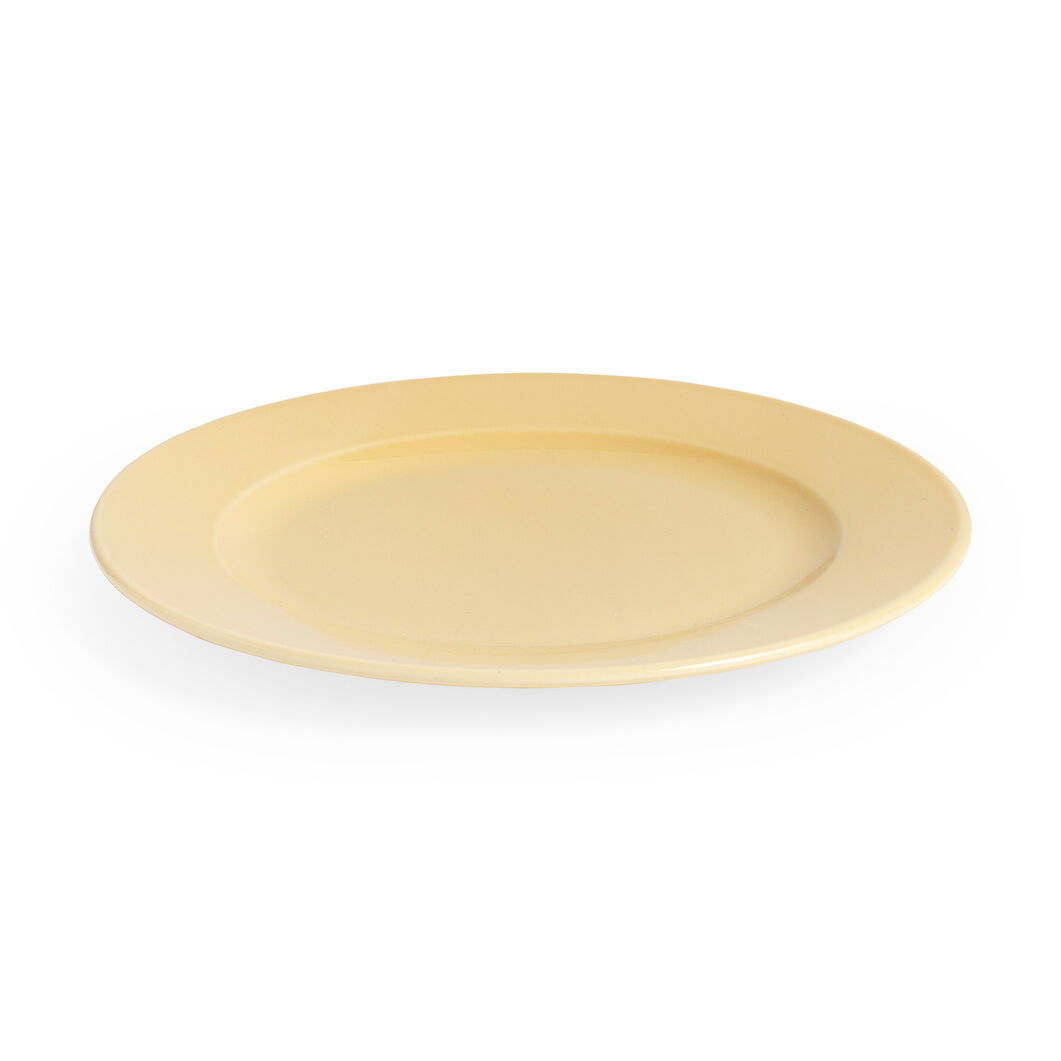 HAY Rainbow Plate in color Warm Yellow